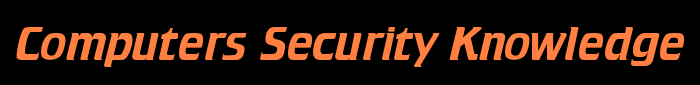 Computers Security Knowledge Logo